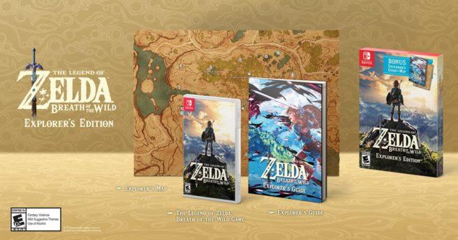 Zelda Breath of the Wild Explorer Edition