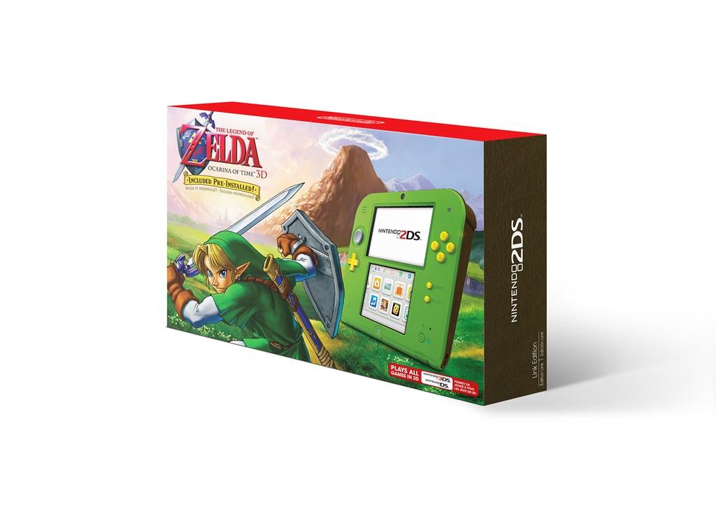Zelda 2DS Bundle Ocarina of Time 3DS