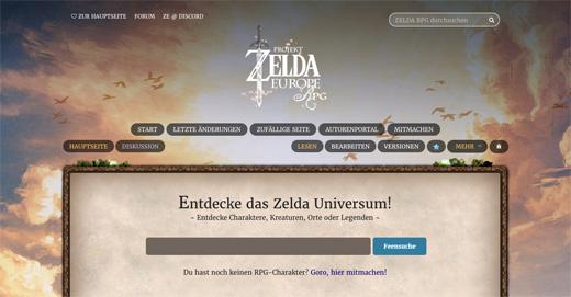 Zelda Europe RPG Chronicles