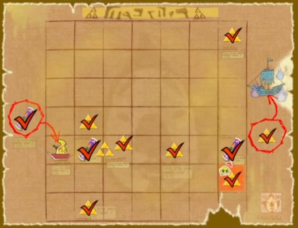 Zelda Wind Waker Karte.Zelda Europe Forum The Wind Waker Hd Triforce Splitter Und