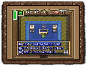 A Link to the Past Krafthandschuhe