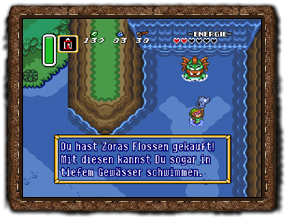 A Link to the Past Zoraflossen