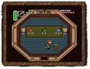 A Link to the Past Zauberpulver