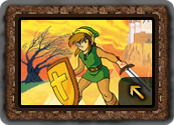 Adventure of Link Artwork