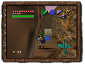 Ocarina of Time Herzteile