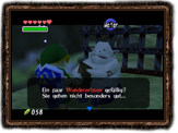 Ocarina of Time Wundererbse Dialog