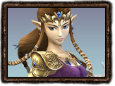 Super Smash Brothers Brawl Zelda
