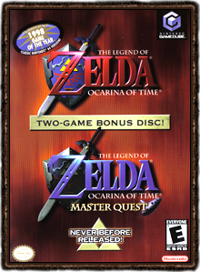 Zelda Ocarina of Time Masterquest Boxart