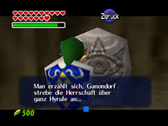 Ocarina of Time Mythenstein
