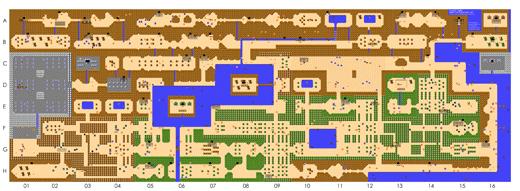 ZELDA EUROPE | Spiele | The Legend of Zelda | Karten